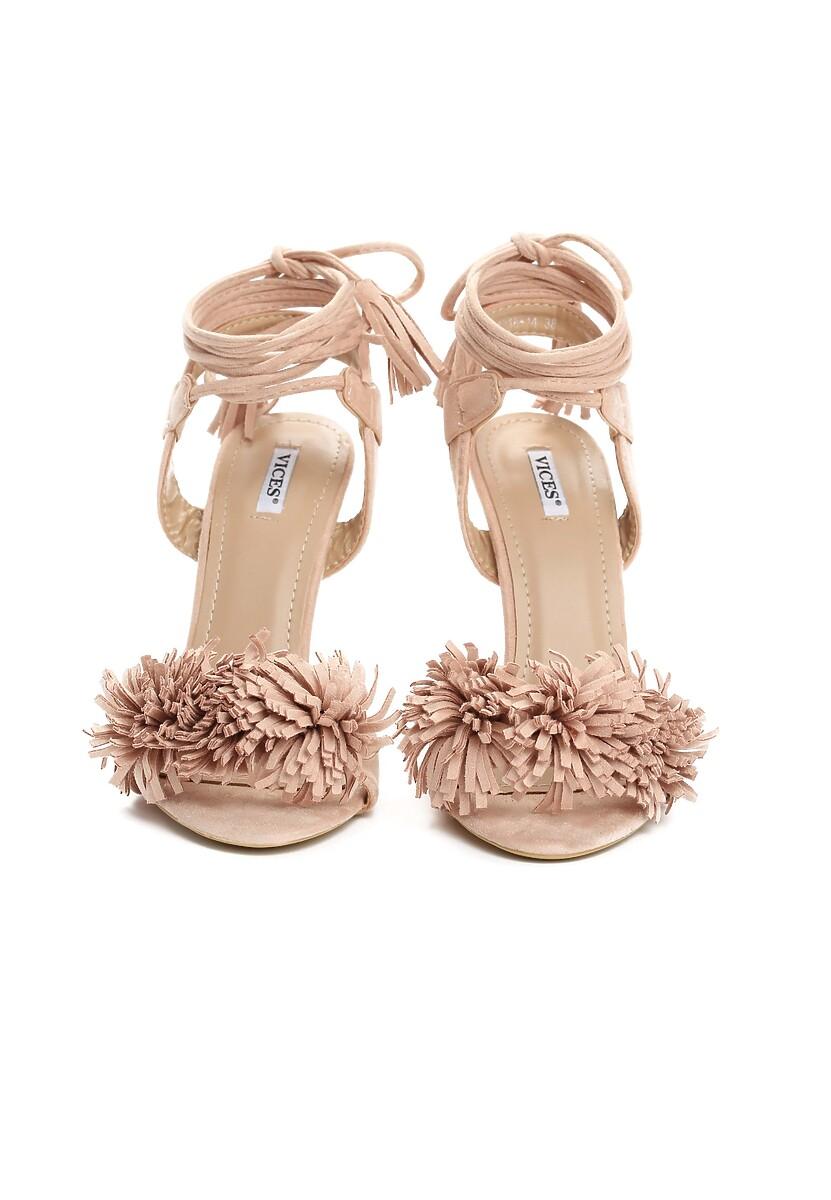Beżowe Sandały Elision