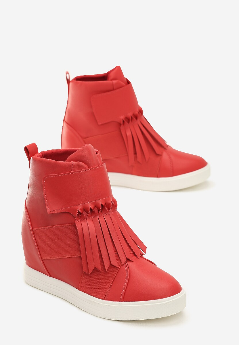 Czerwone Sneakersy Ginger