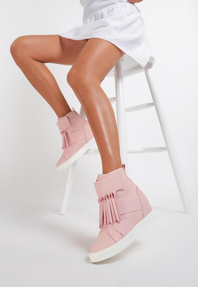 Różowe Sneakersy Ginger Kod produktu: 8303