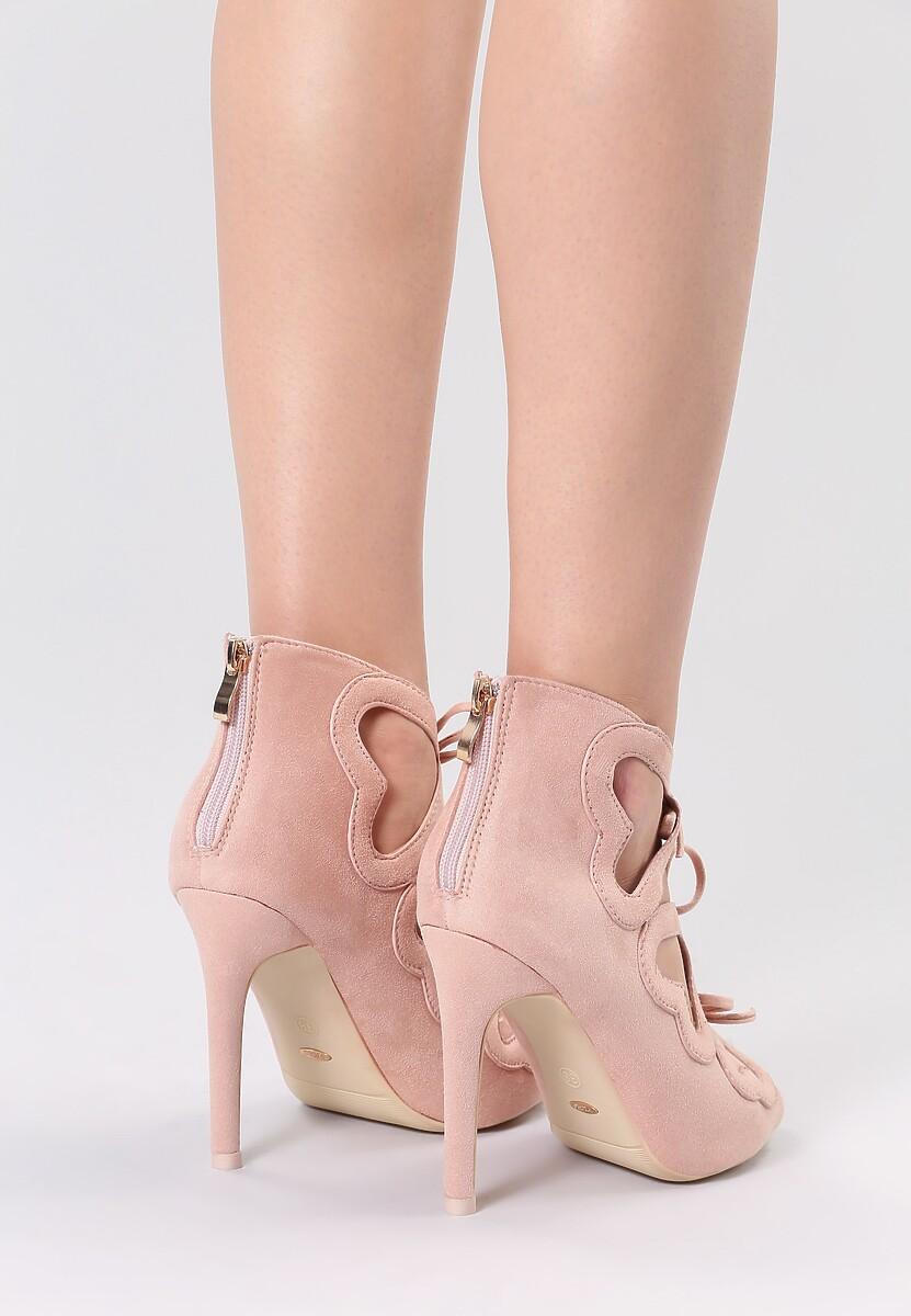Różowe Sandały Shifty Sneak