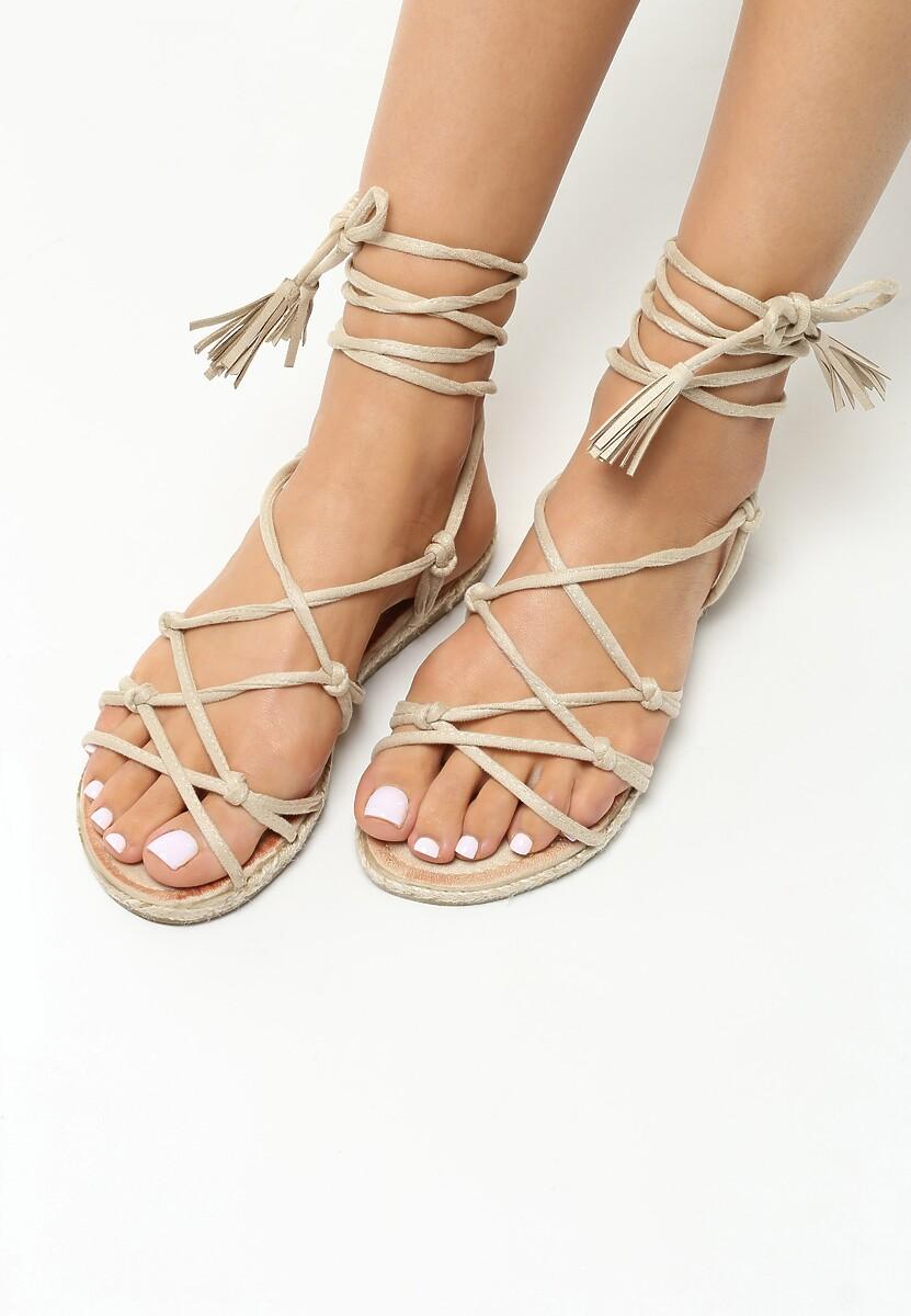 Beżowe Sandały Difference