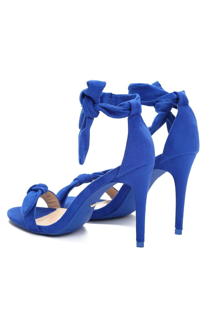 Kobaltowe Sandały Turquoise