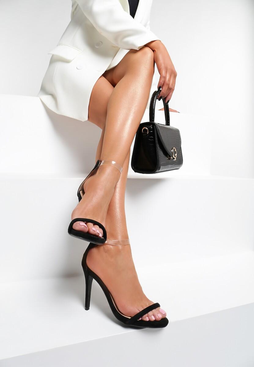 Czarne Sandały Ad Hoc