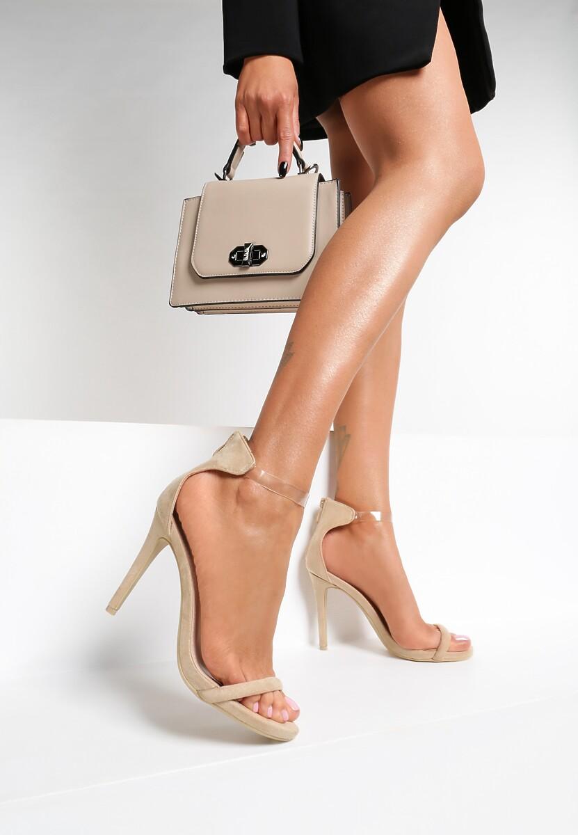 Beżowe Sandały Ad Hoc