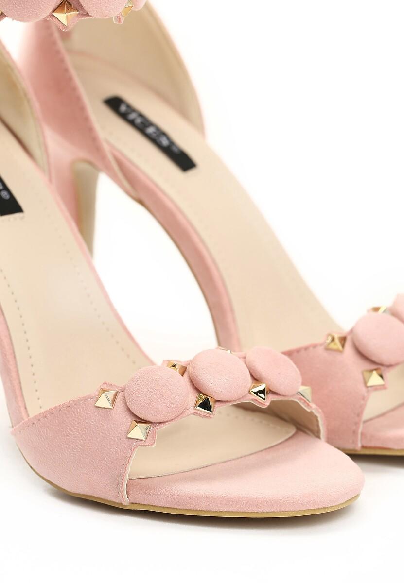 Różowe Sandały Trefoil