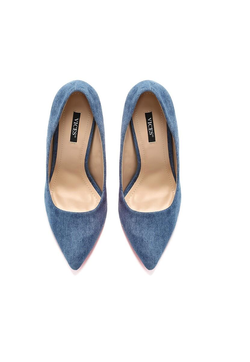 Niebieskie Szpilki Violet