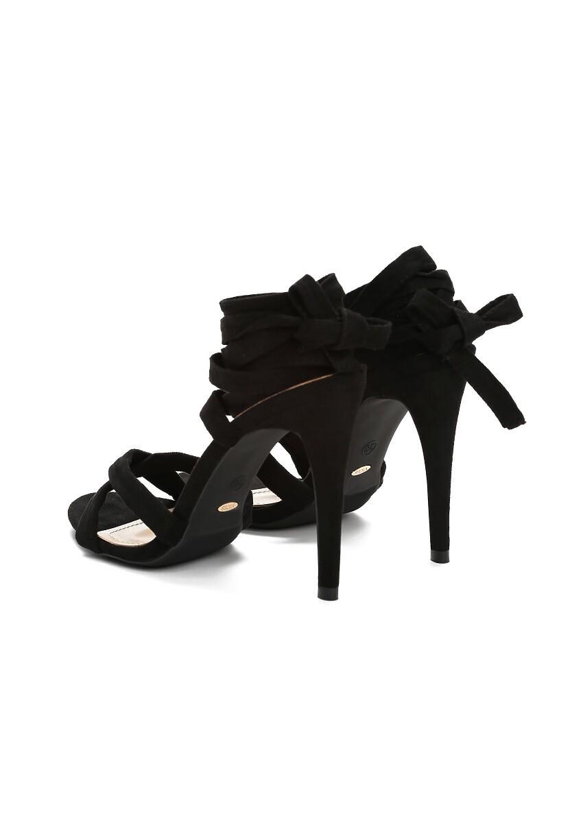 Czarne Sandały Rockabye