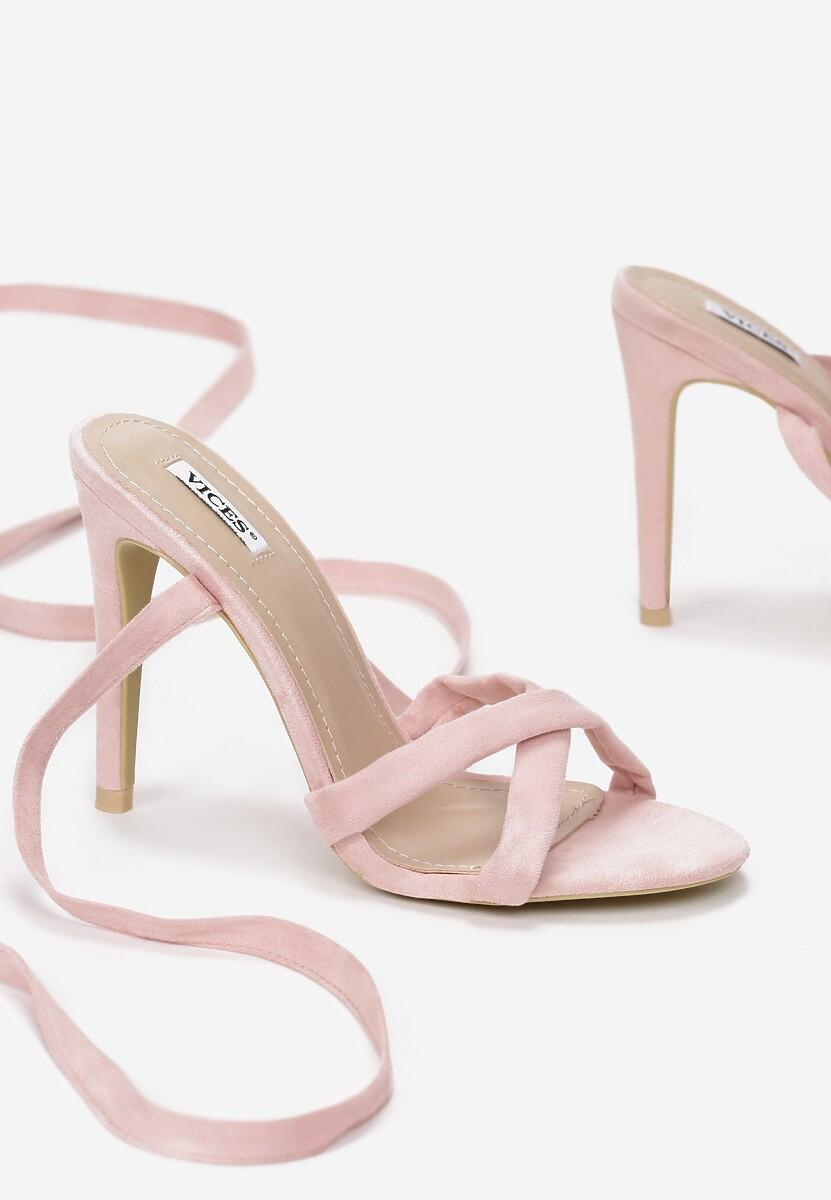 Różowe Sandały Rockabye