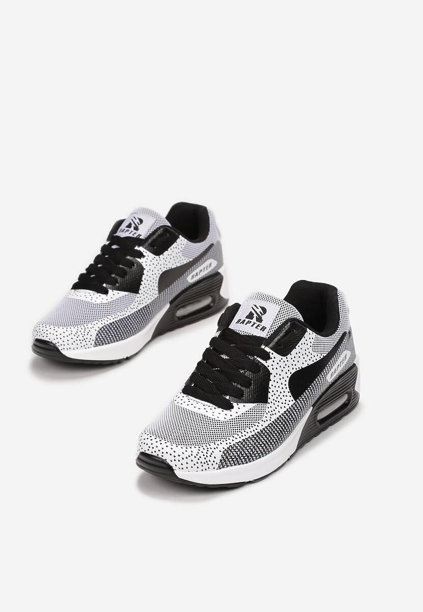 Czarne Sneakersy Leucolinai