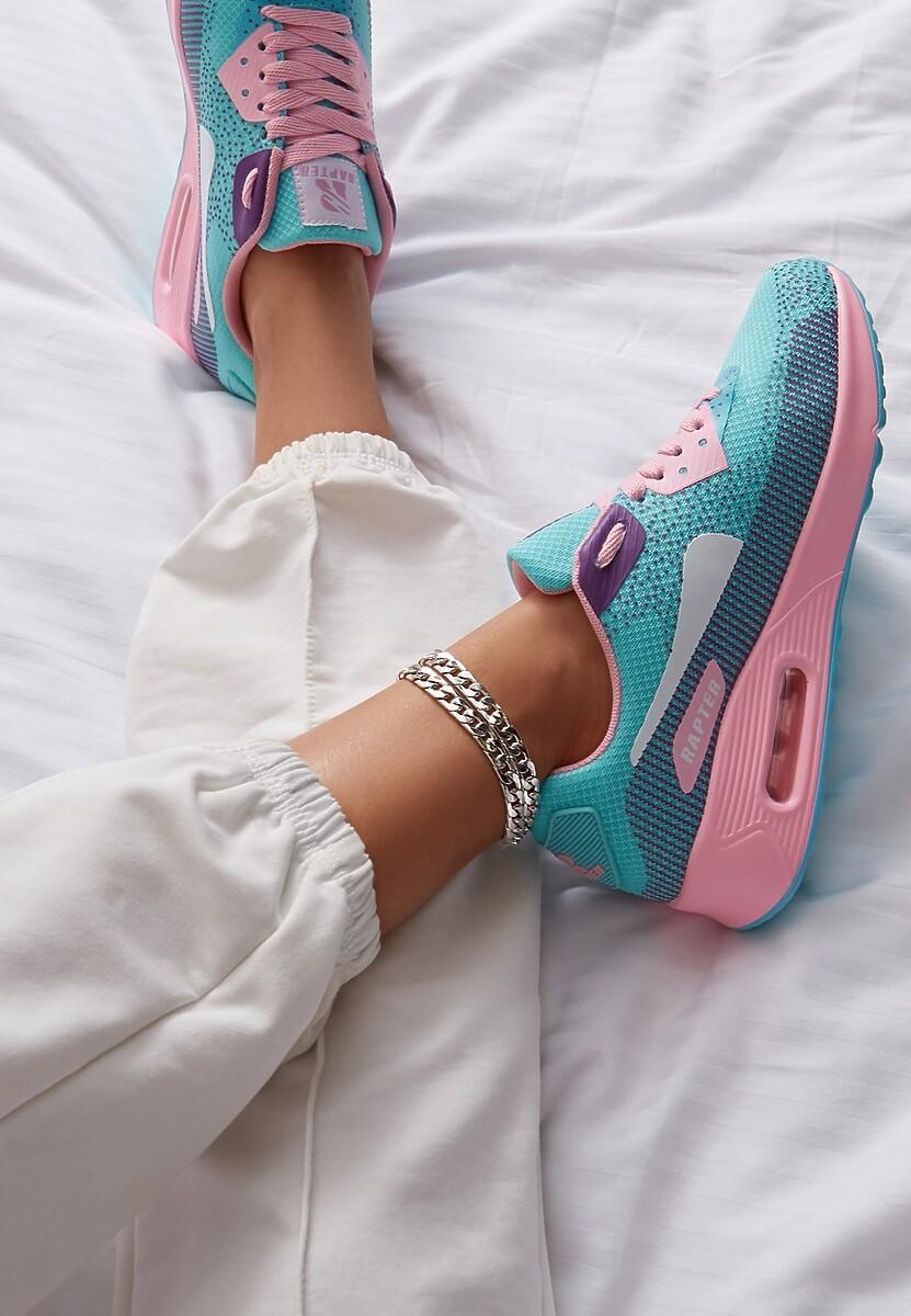 Niebieskie Sneakersy Leucolinai