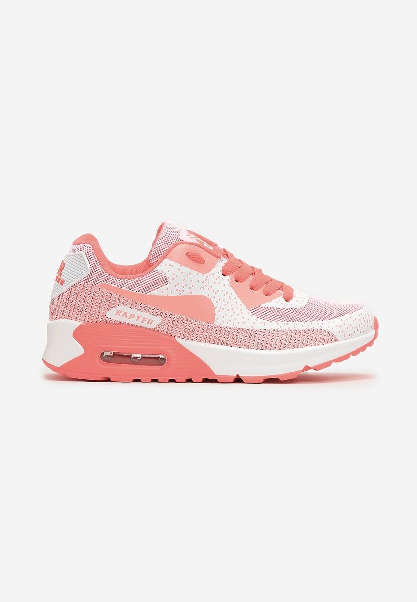 Koralowe Sneakersy Leucolinai