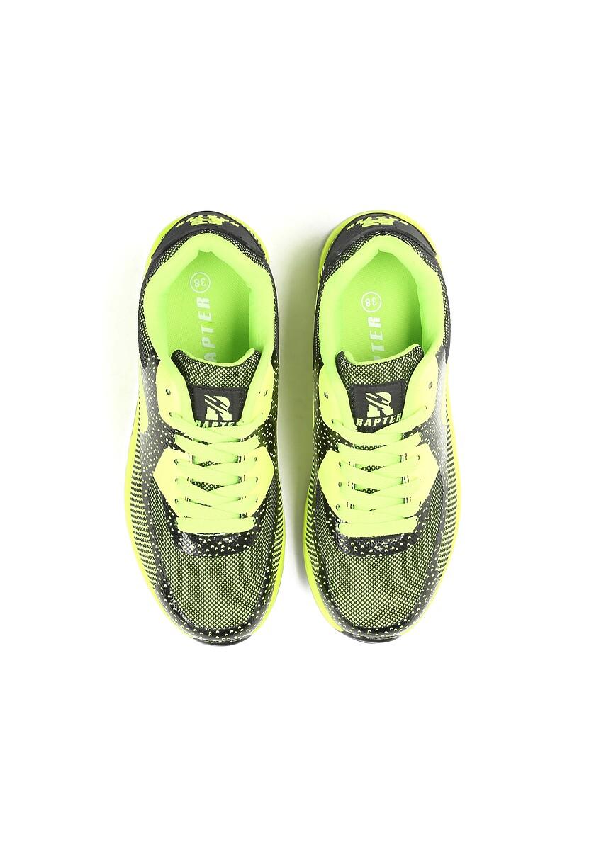 Limonkowe Neonowe Buty Sportowe Apricot Mood