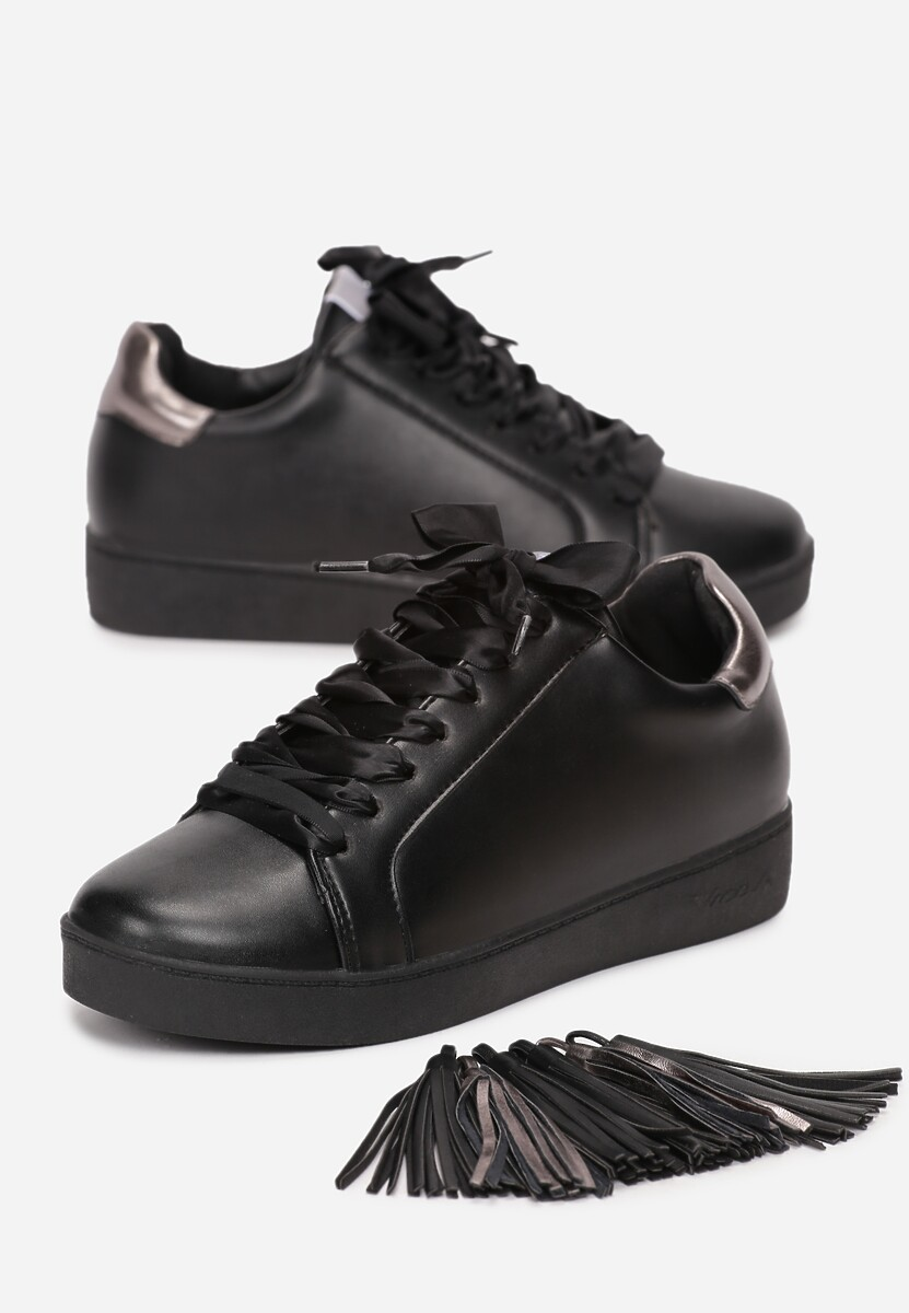 Czarne Sneakersy Murmurous