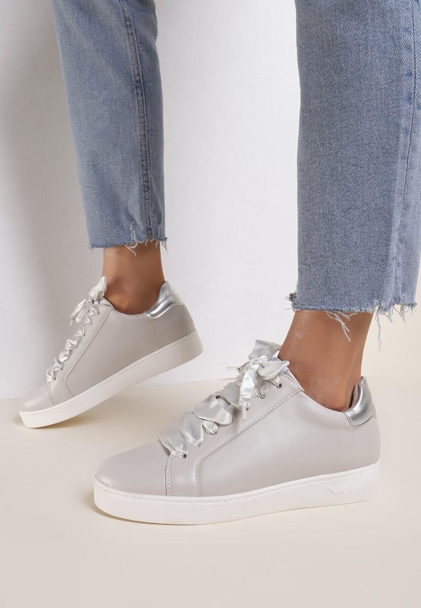 Szare Sneakersy Murmurous