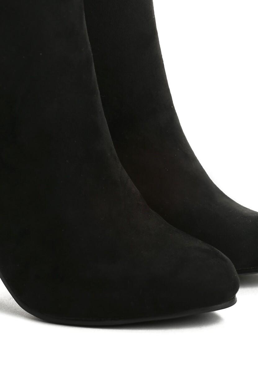 Czarne Botki Little Fashion