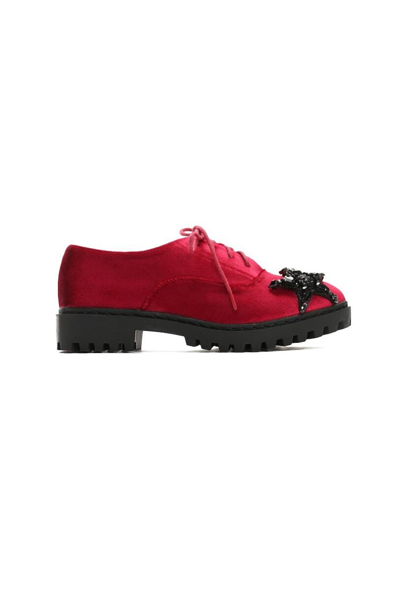 Czerwone Półbuty Ambrosial Girl