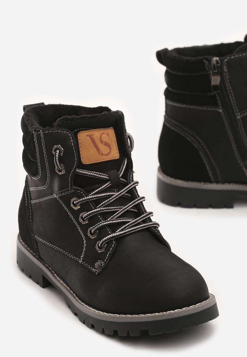 Czarne Traperki Blue Shoes