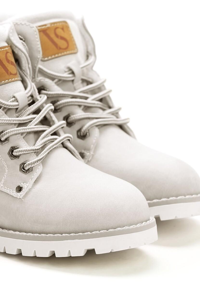 Szare Traperki Blue Shoes
