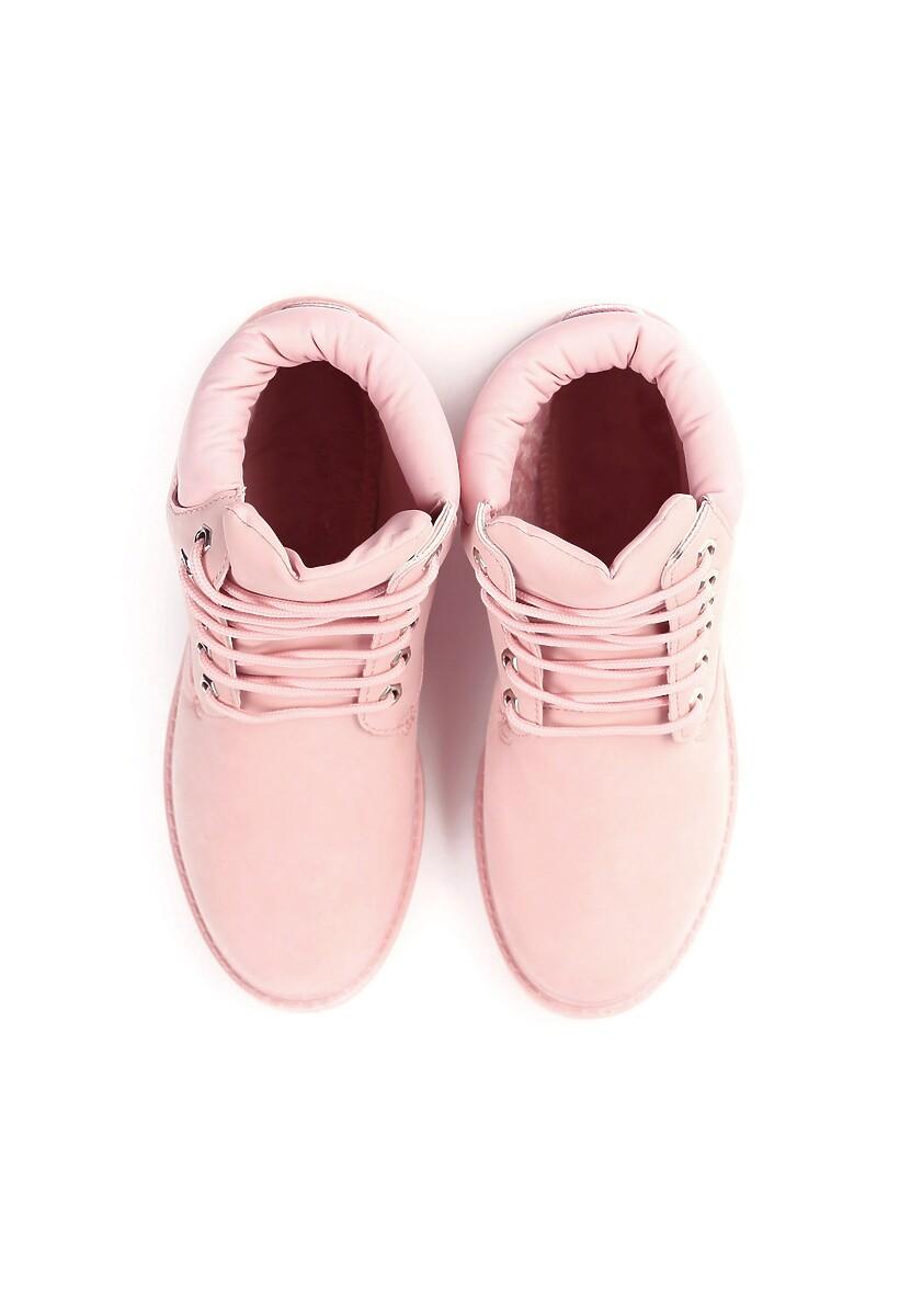Różowe Traperki Don't Worry Baby