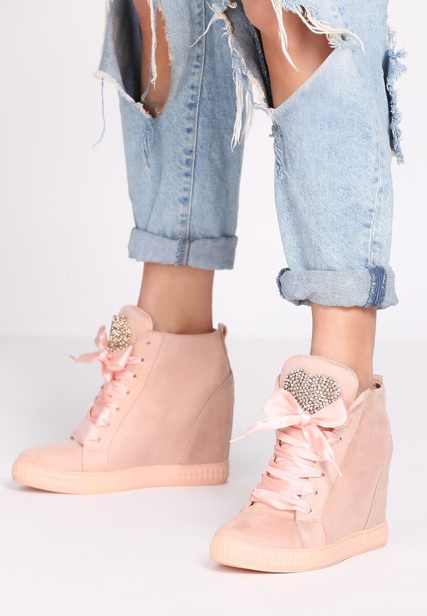 Różowe Sneakersy Thumbs Up!