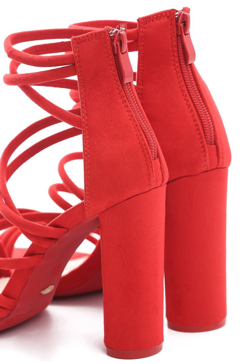 Czerwone Sandały More Than Friends
