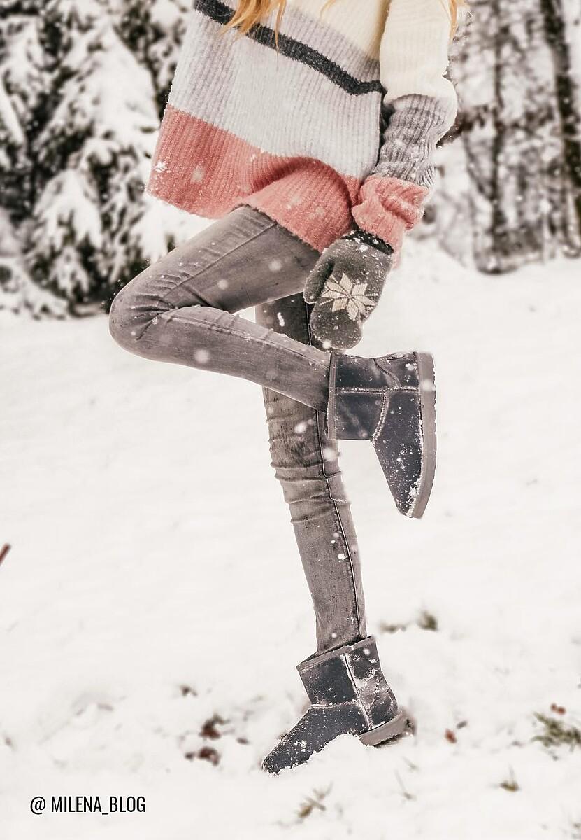 Szare Śniegowce Queslett