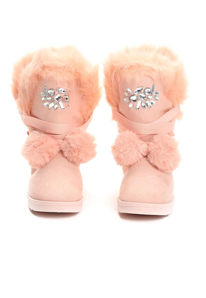 Różowe Śniegowce Ice Lady