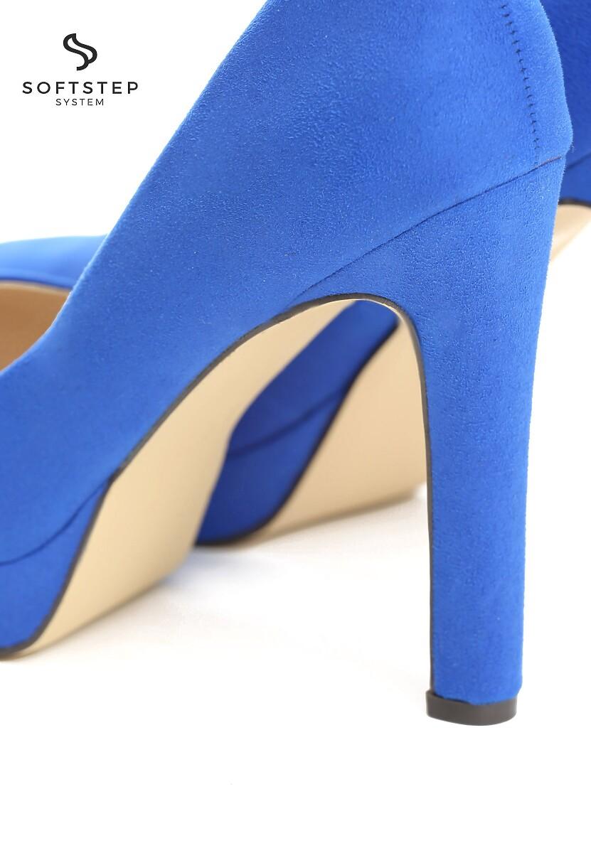 Niebieskie Szpilki Midnight Rambler