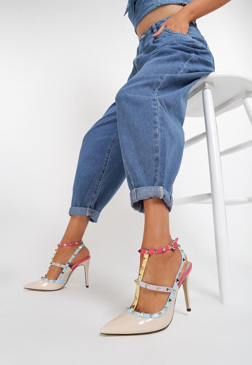 Beżowe Sandały As Times Goes By