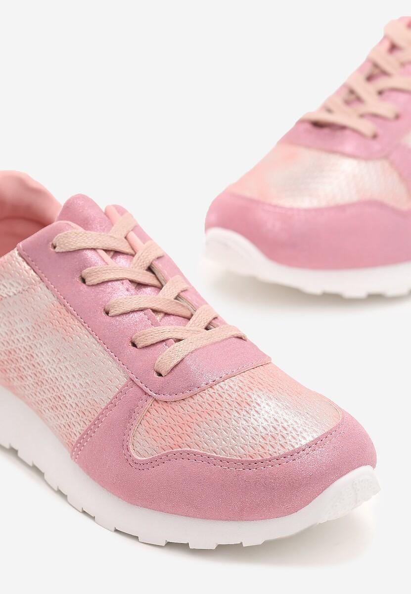 Różowe Buty Sportowe Sport Forever