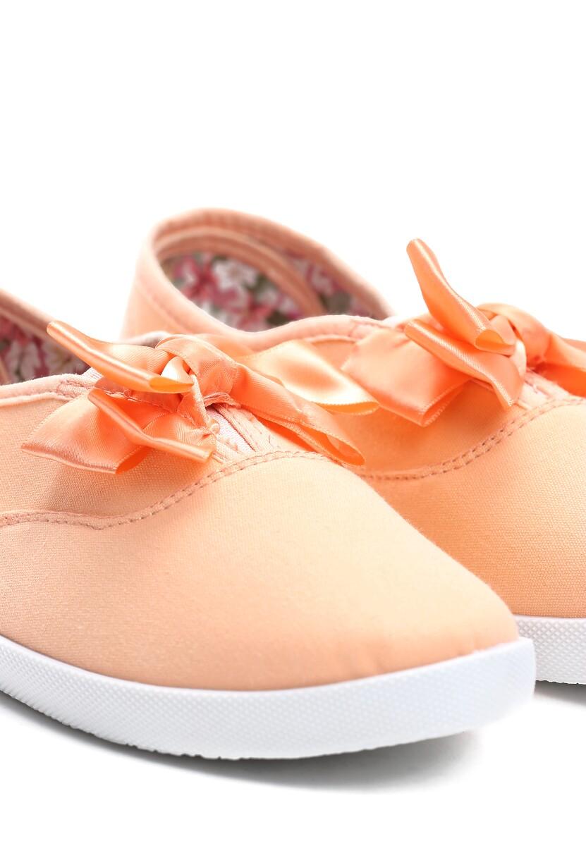 Pomarańczowe Tenisówki Bright Lilac