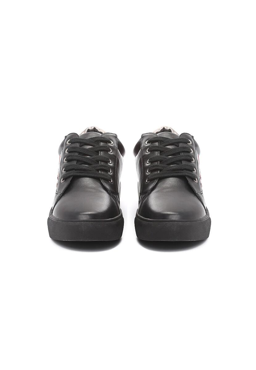Czarne Sneakersy Evening Runner