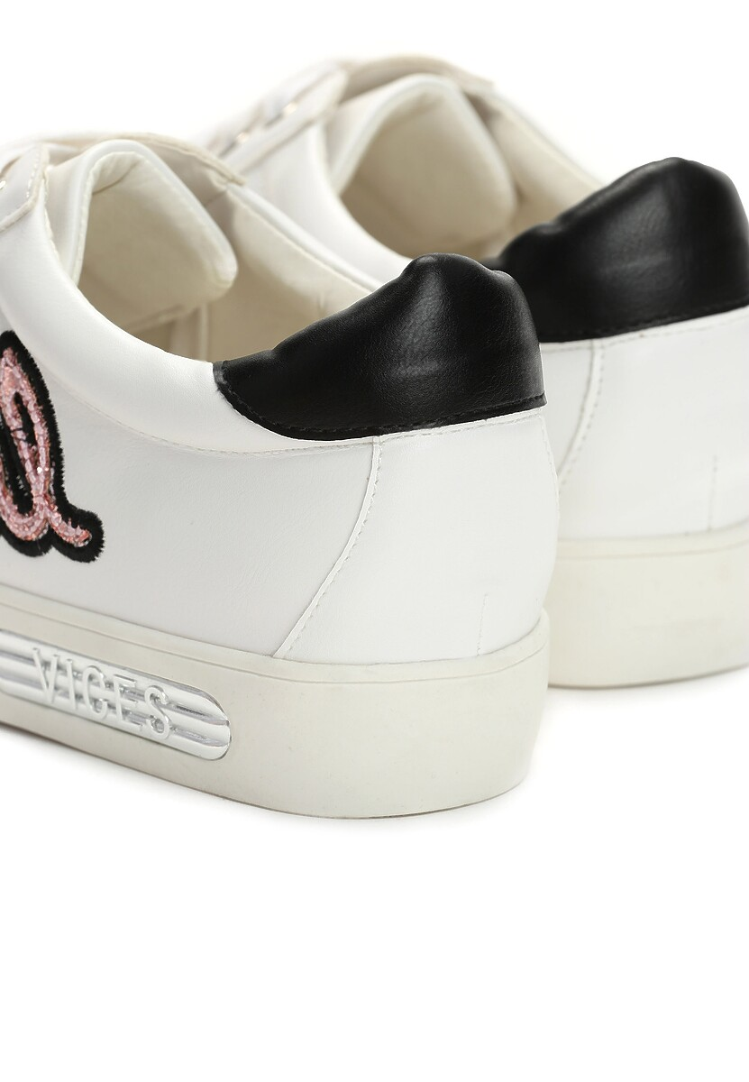Biało-Różowe Sneakersy Evening Runner