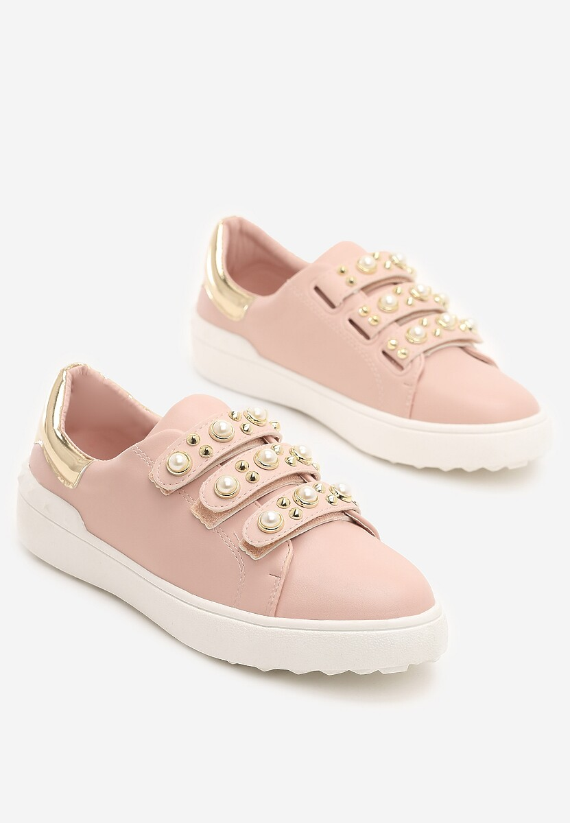 Różowe Buty Sportowe Bye Bye Love