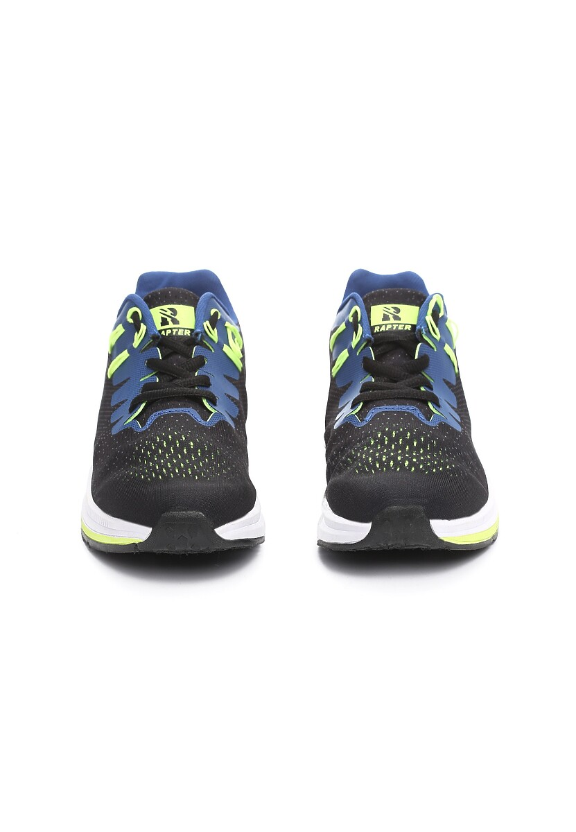 Czarno-Niebieskie Buty Sportowe Hypnotized