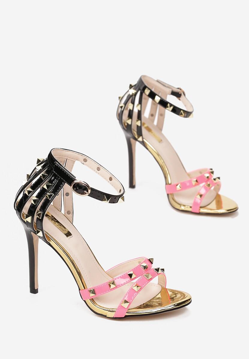 Fuksjowe Neonowe Sandały Exemplary