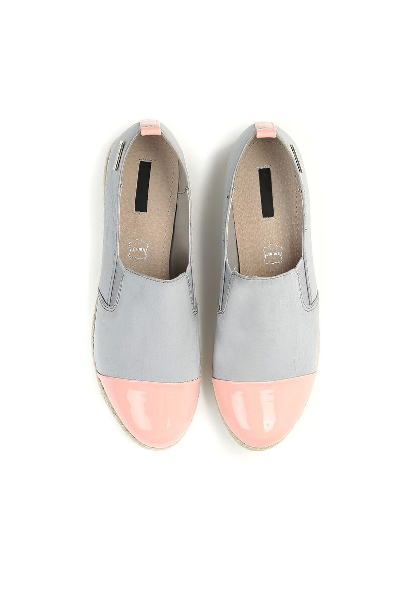 Szare Slip On Ebullience