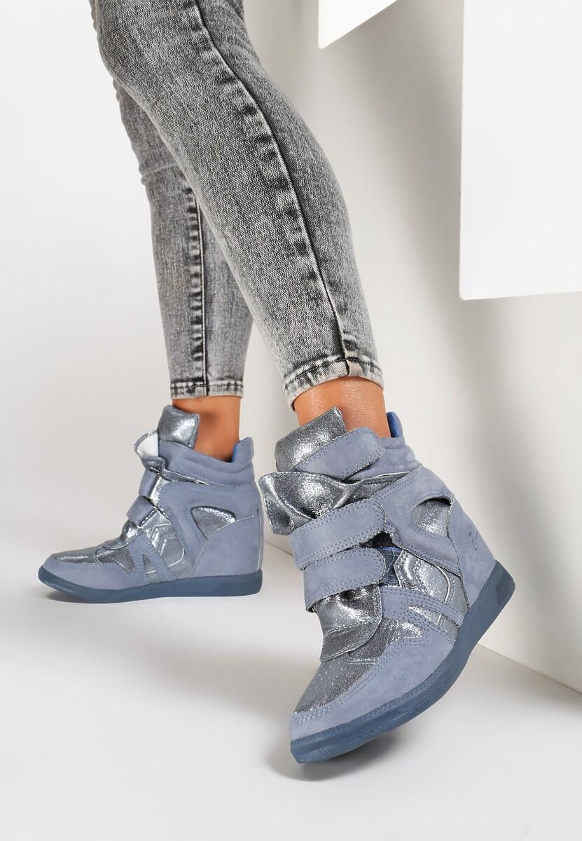 Niebieskie Sneakersy Miss Good