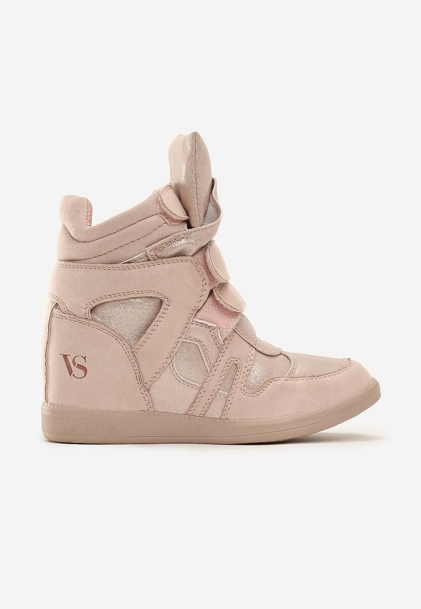 Różowe Sneakersy Miss Good