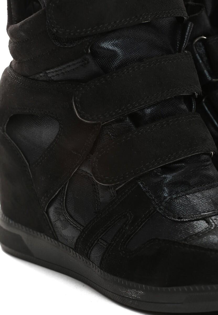 Czarne Sneakersy Live My Life