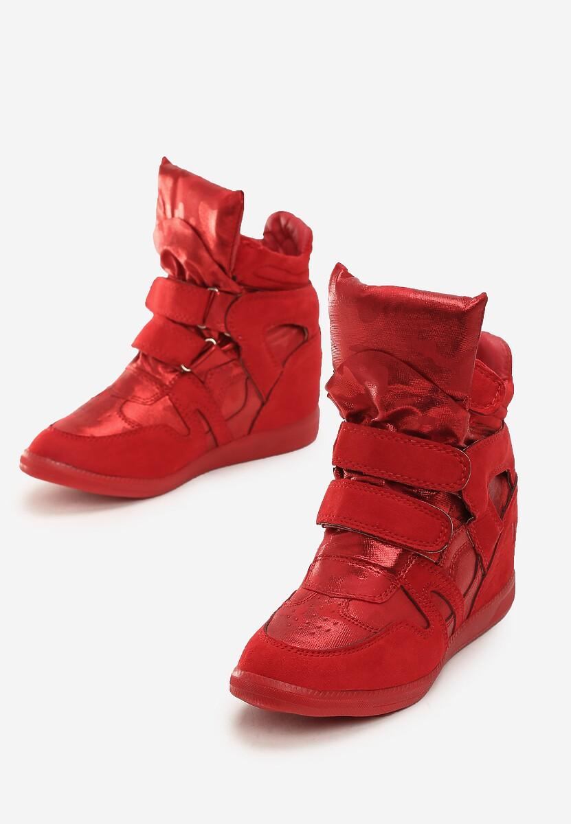 Czerwone Sneakersy Live My Life