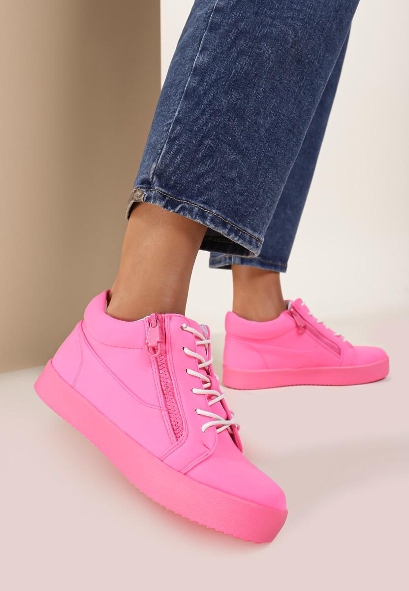 Fuksjowe Neonowe Sneakersy Let It Go