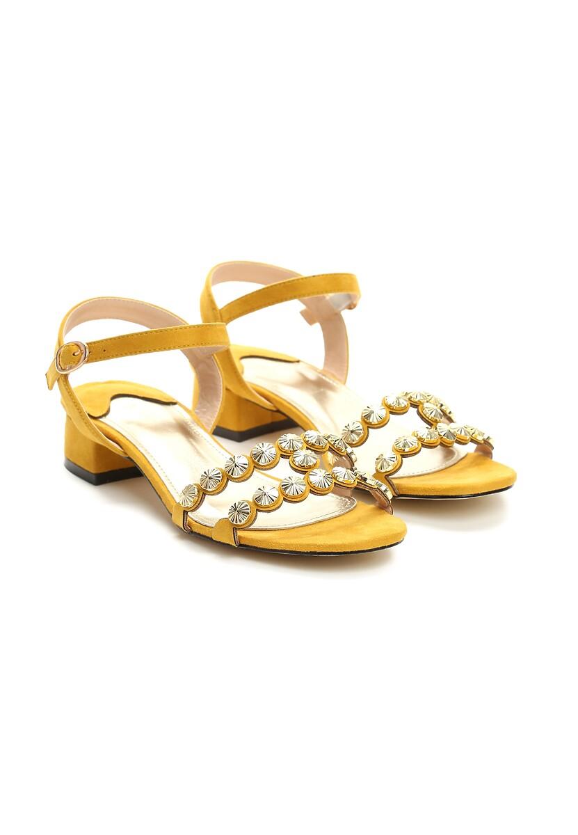 Żółte Sandały Conscientiousness