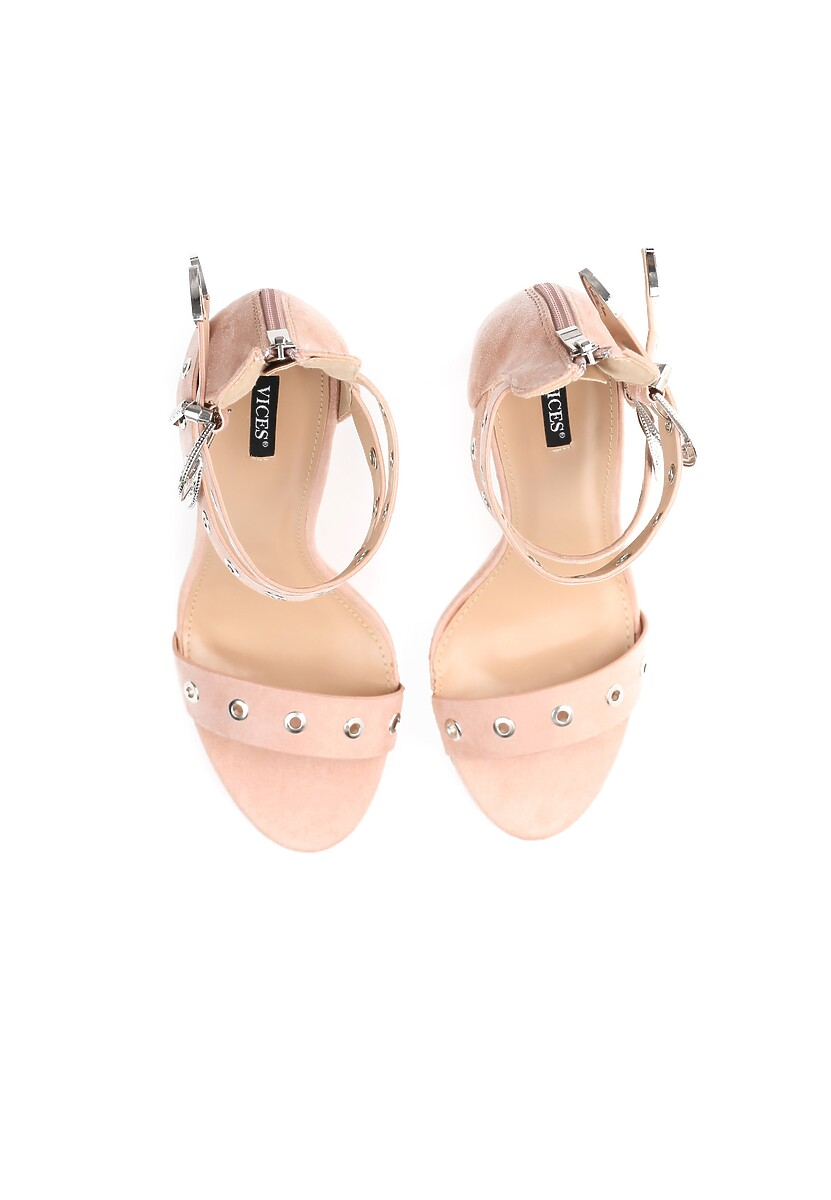 Różowe Sandały French Kiss