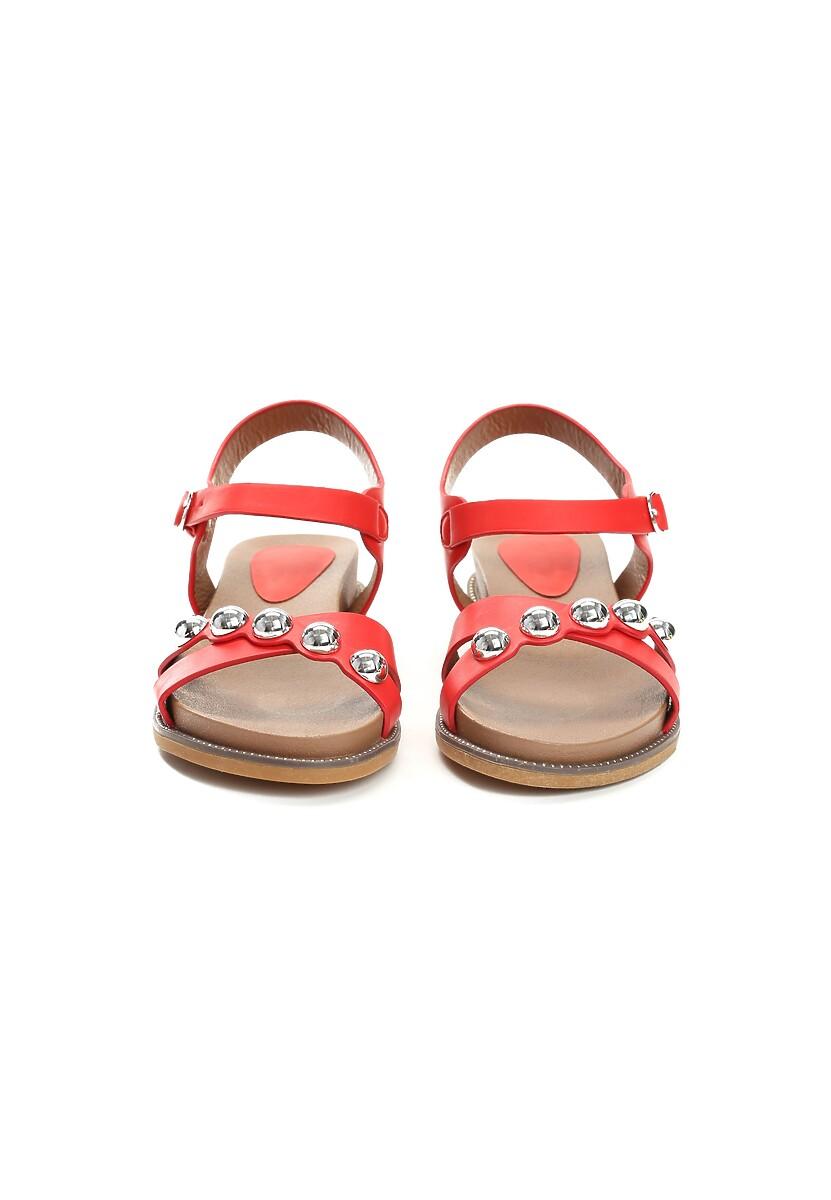 Czerwone Sandały Float On