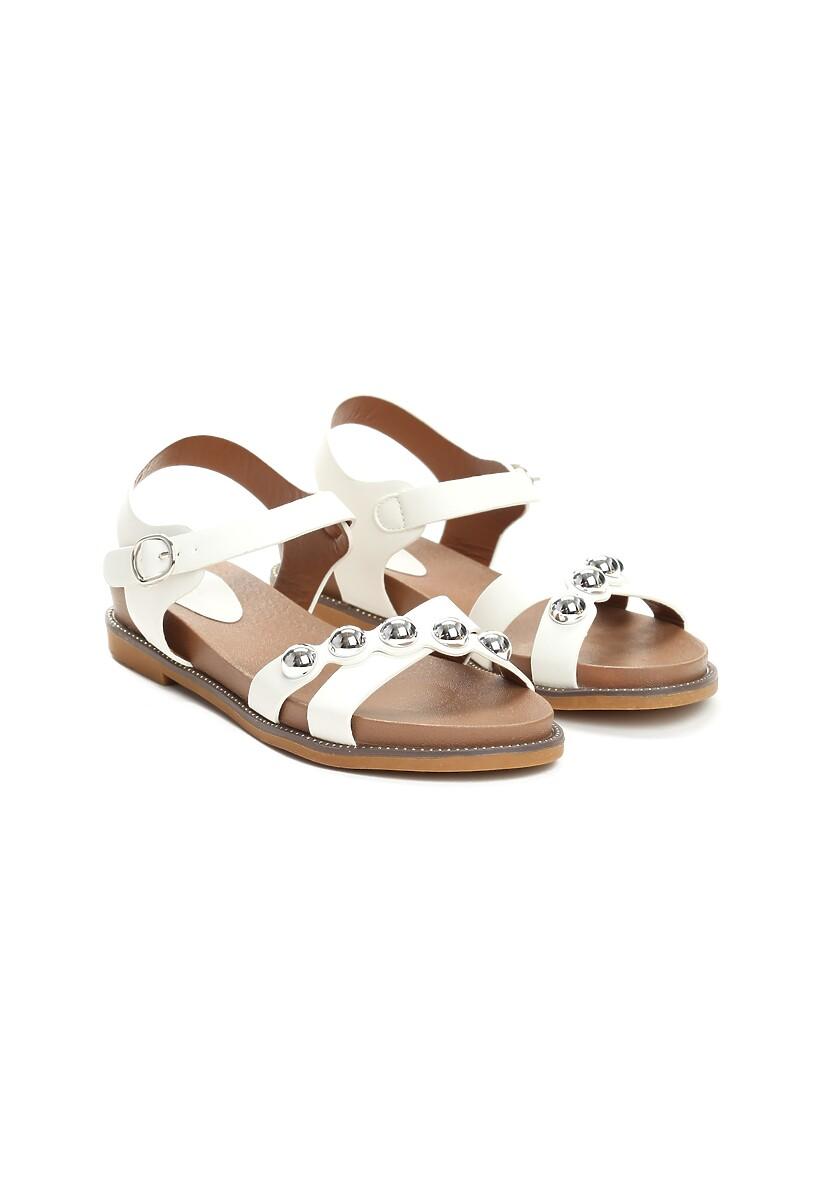 Białe Sandały Float On