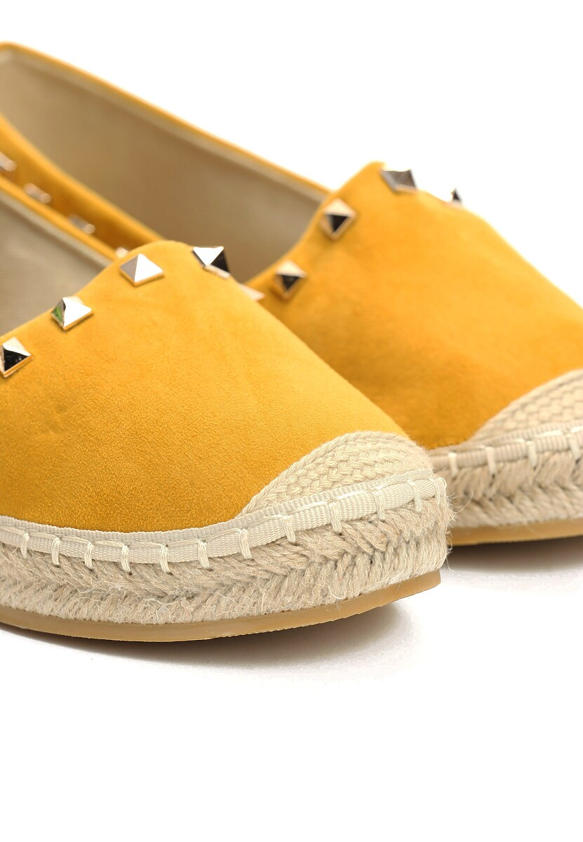 Musztardowe Espadryle We're in Love