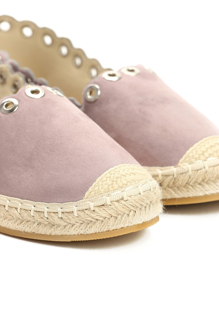 Fioletowe Espadryle This Is Love