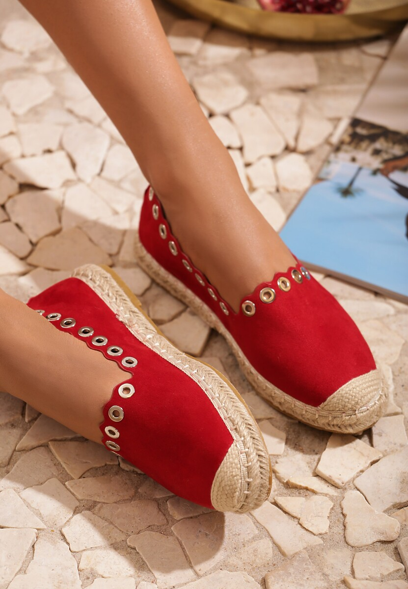 Czerwone Espadryle This Is Love