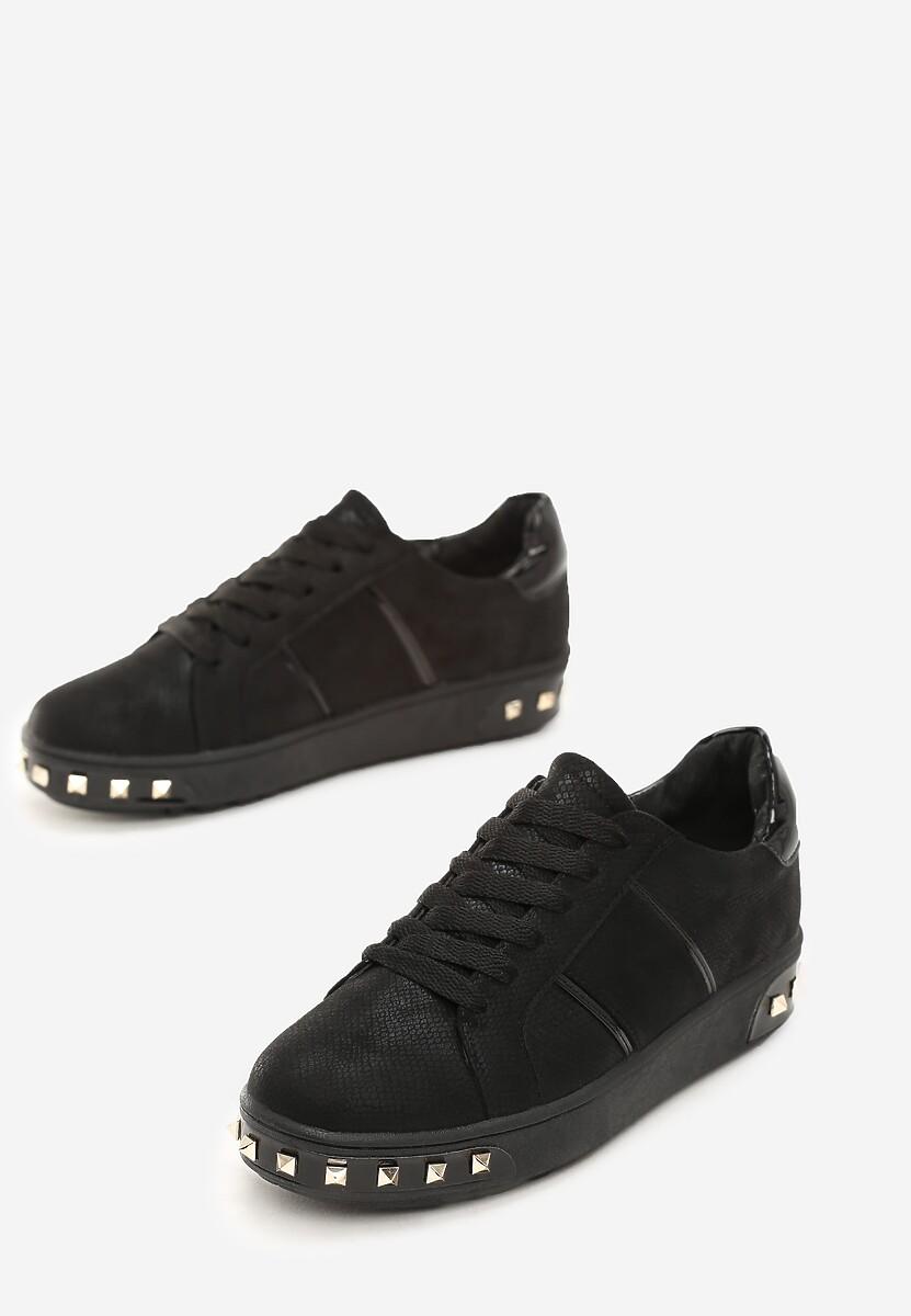 Czarne Sneakersy Amor De Mi Vida